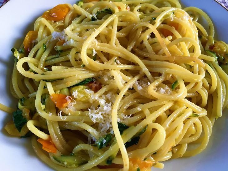 spaghetti pomodori gialli