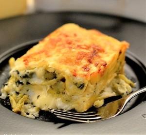 lasagne broccoli morlacco
